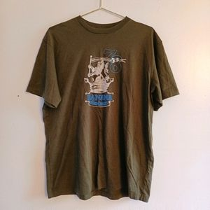 Banana Republic Graphic T-shirt Embroidered L